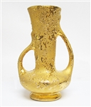 WEEPING GOLD VASE