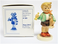 "HUMMEL FIGURINE ""BOY WITH HORSE"""
