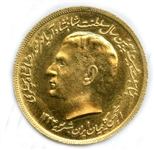 EXTREMELY RARE 1966 GOLD MEDAL IN HONOR OF SHAH OF IRAN STRUCK BY THE IRANIAN JEWISH COMMUNITY