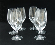SET OF 6 WATERFORD GLASSES