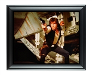 Harrison Ford Autographed Framed Star Wars 16x20 Photo