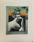 WUNDERLICH *NUDE COMPOSITION* LITHOGRAPH