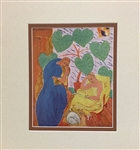 MATISSE *COMPOSITION* MATTED HELIOGRAVURE