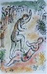 CHAGALL **COMBAT BETWEEN ULYSSES AND IRUS