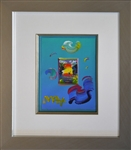 MAX ** A BETTER WORLD ** SIGNED MIXED MEDIA ORIGINAL