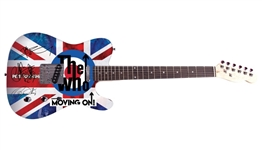 The Who Autographed Facsimile Signed Graphics Guitar