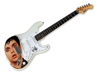 Billiejoe Armstrong Autographed Airbrush Guitar