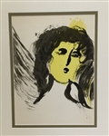 CHAGALL *THE ANGEL* ORIGINAL LITHOGRAPH