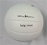 "Val Kilmer Top Gun Autographed ""Ice Man"" Volleyball ACOA"