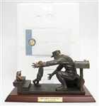 "FRANKLIN MINT BRONZE ""HOMECOMING"""
