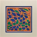 MATISSE * FLOWERING IVY* MATTED LITHOGRAPH