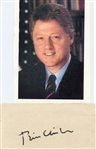 1993 OFFICIAL INVITATION TO THE INAUGURATION OF BILL CLINTON WITH HAND SIGNED CLINTON AUTOGRAPH