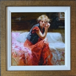 PINO ** SILENT CONTEMPLATION ** SIGNED CANVAS