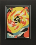 MASSON *SOLEIL - SUN* MATTED LITHOGRAPH