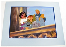 DISNEY ***HUNCHBACK OF NOTRE DAME*** LITHOGRAPH