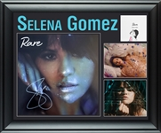 Selena Gomez Autographed Rare Framed LP Display