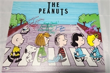 The Peanuts Hand Signed Artwork