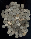 GREAT LARGER LOT OF 250 ASSORTED FULL DATE INDIAN HEAD BUFFALO NICKELS
