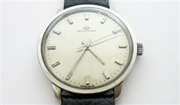 CONTENT OF SAFE DEPOSIT BOX: 1950s MOVADO SUB-SEA WATCH