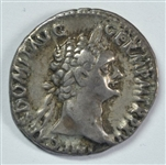 RAZOR-SHARP VERY SCARCE DOMITIAN ROMAN SILVER DENARIUS, 81-96 AD